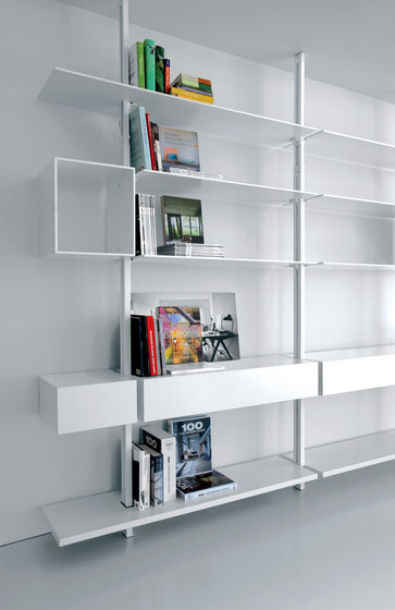 System SY13 by Extendo | Office shelving systems