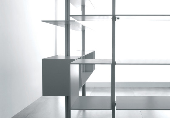 System SY15 by Extendo | Office shelving systems