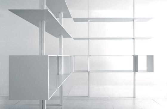 System SY15 di Extendo | Sistemi scaffale ufficio
