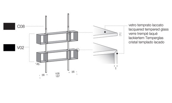 System SY16 by Extendo | Office shelving systems