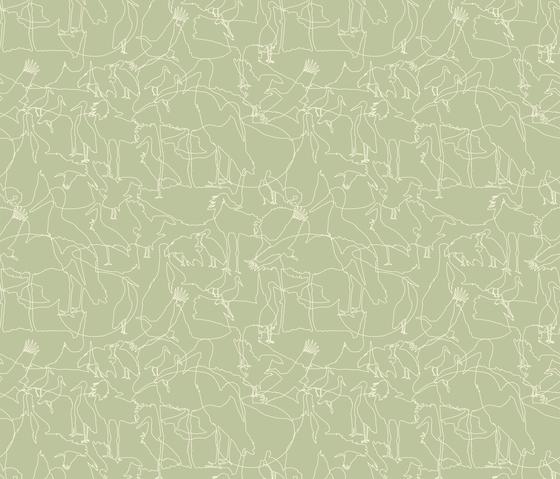 Störche I Familie | col2 by Sabine Röhse | Bespoke fabrics