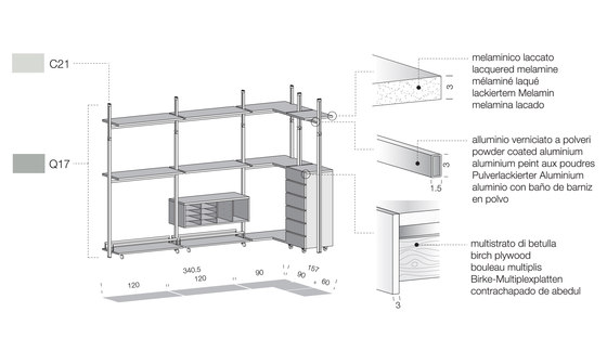 Personal PE04 by Extendo | Shelving systems