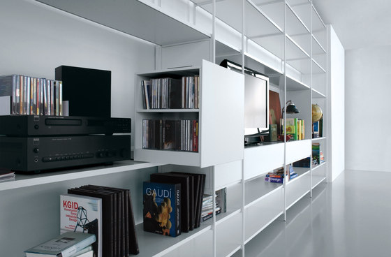 XY 01 by Extendo | Library shelving systems