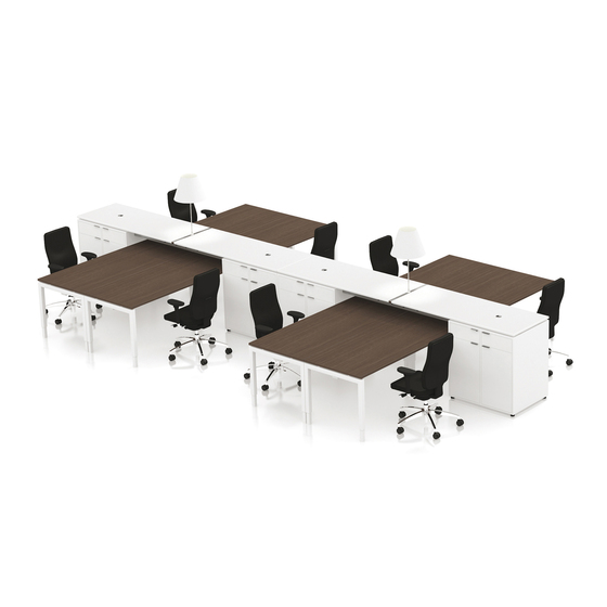 Backbone by MARKANT | Desking systems