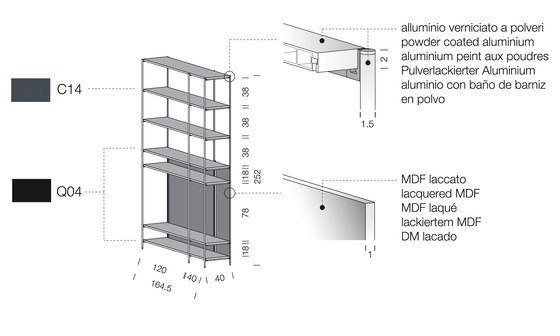 XY 09 by Extendo | Library shelving systems
