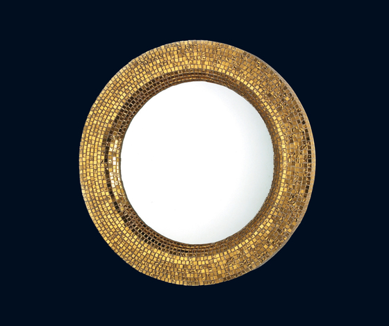 Couronne yellow gold de Bisazza | Miroirs