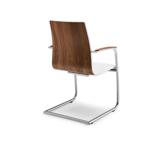 Symbol wood | 911 by Tonon | Visitors chairs / Side chairs