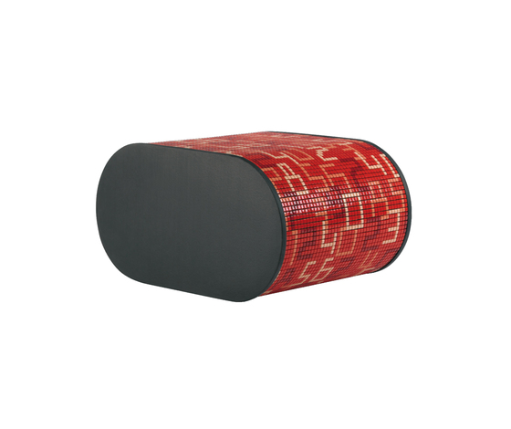 Partner Soft Mosaic by Bisazza | Poufs