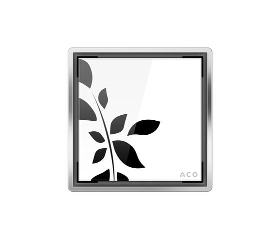 ACO Punktablauf Glasabdeckung de ACO Haustechnik | Sumideros para baños