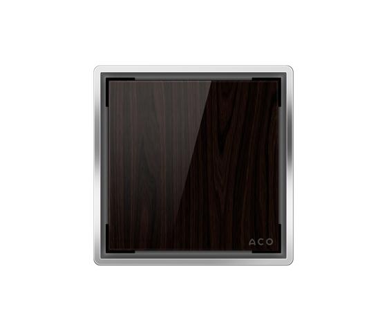 ACO Punktablauf Glasabdeckung by ACO Haustechnik | Plate drains