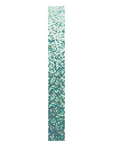 Begonia mix 8 by Bisazza | Glass mosaics