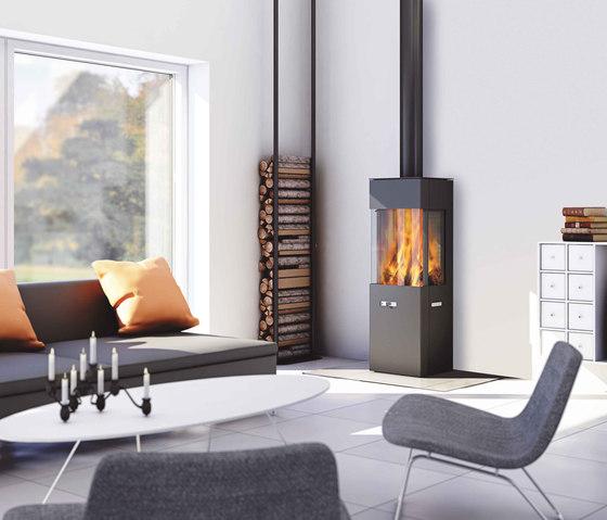 Q-20 by Attika Feuer | Wood burning stoves