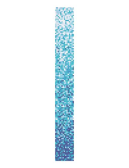 Ortensia mix 1 di Bisazza | Mosaici vetro