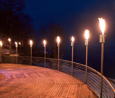 DeLIGHT 10 Gasfackel by Attika Feuer | Torches