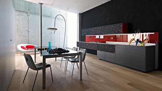 Artematica Vitrum Arte I Pop by Valcucine | Fitted kitchens