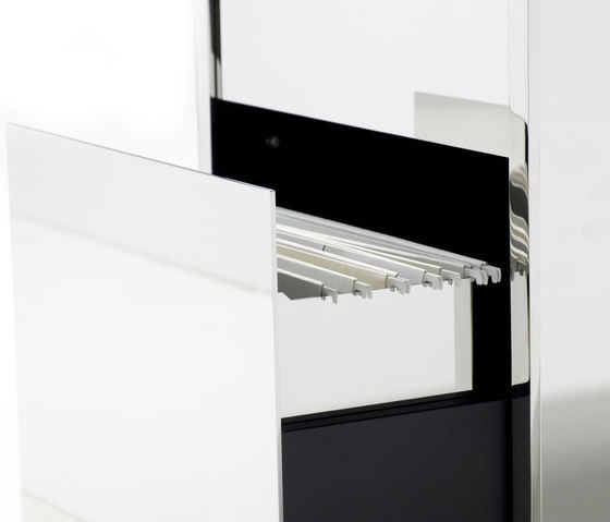 Fold Cabinet by Yomei   Pedestals