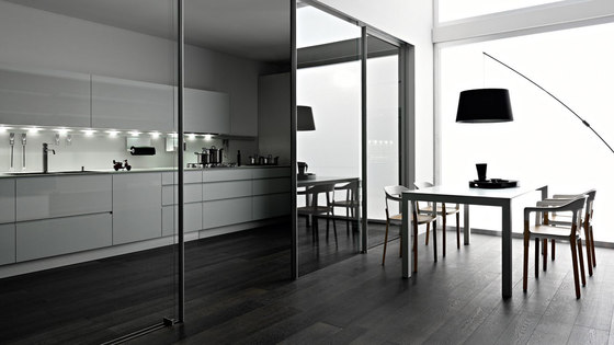 Riciclantica Alluminio I Verniciato Naturale by Valcucine | Fitted kitchens
