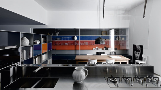 Living Collectus Wall panelling by Valcucine | Wall storage systems