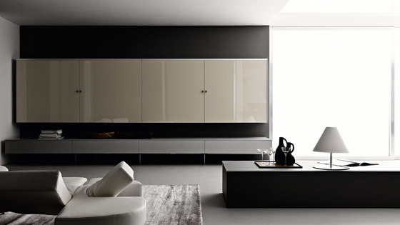 Living Tutum by Valcucine | Wall storage systems