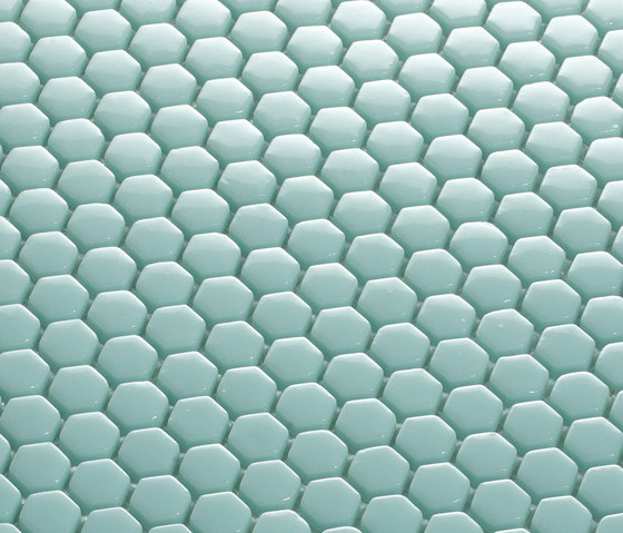 Hexagon Mosaic by EX.T | Glass mosaics