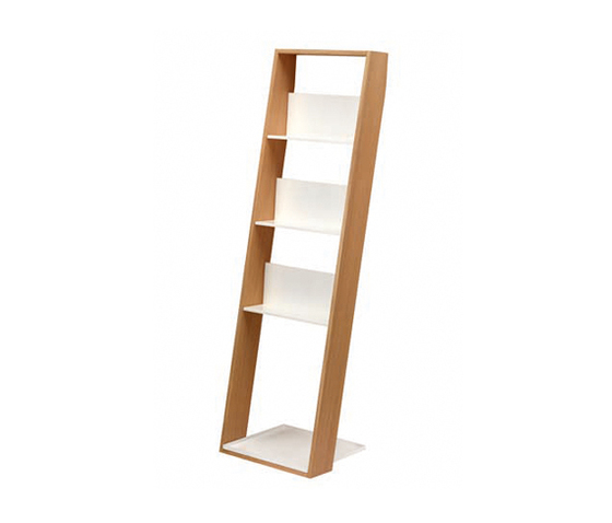 Storage Lean tall by EX.T | Bath shelving