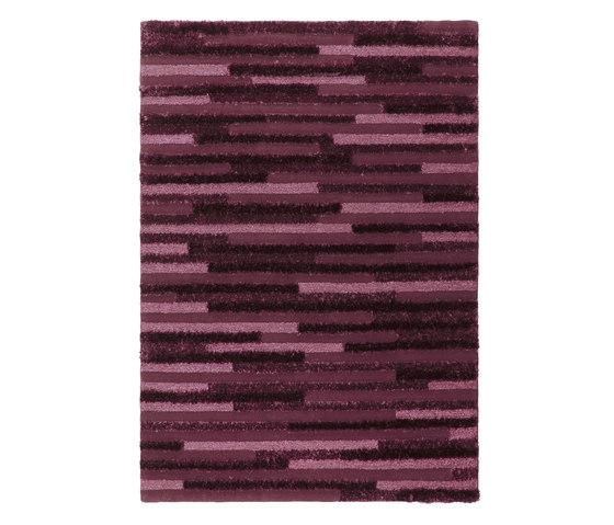 Stripe   Wineberry Purple di Stepevi   Tappeti / Tappeti d'autore