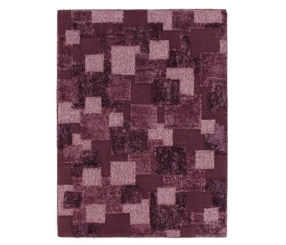 Mirror | Wineberry Purple by Stepevi | Rugs / Designer rugs