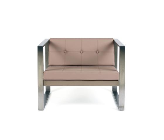 Cima Poltrona by FueraDentro | Garden armchairs