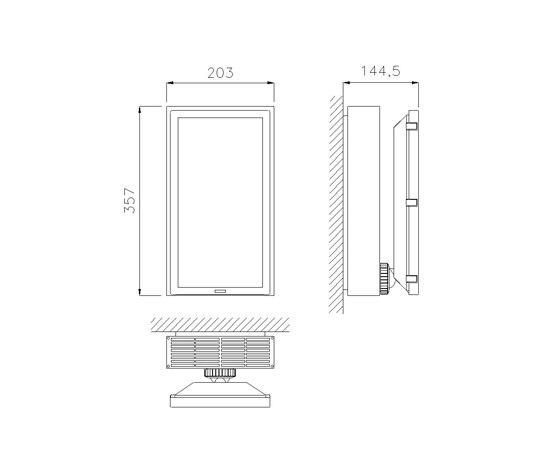 Sealed Zenit by Daisalux | Emergency lighting