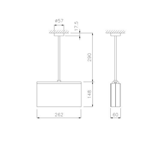 Wall Hanging Emergency Light : Lisu LED by Daisalux Product