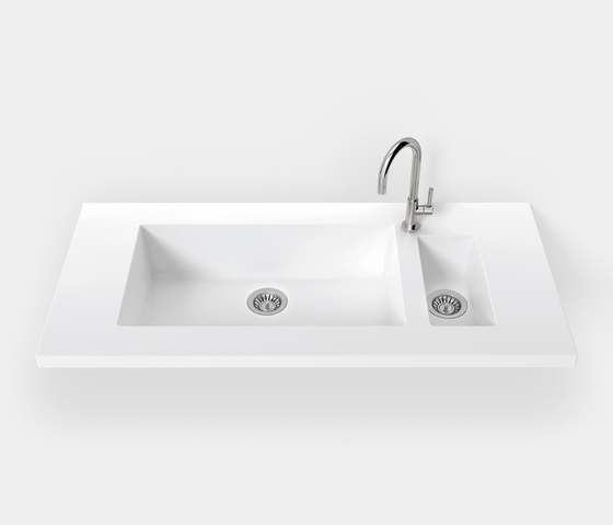 DuPont® sinks pure and simple de Hasenkopf | Éviers de cuisine