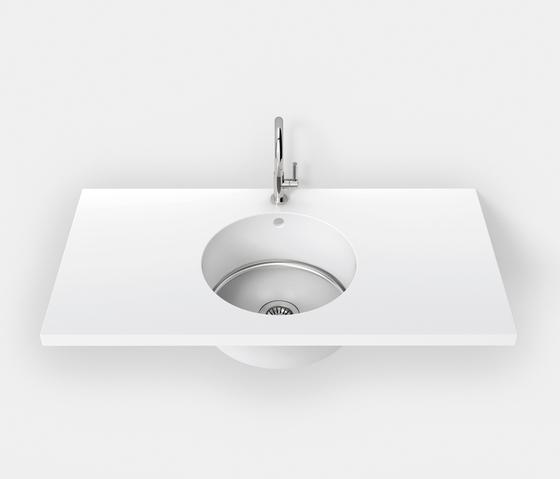 Fontana FSP runde Formen von Hasenkopf | Küchenspülbecken