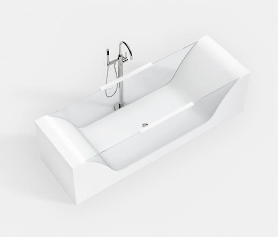 STANDARD BATHTUBS BW-GLAS di Hasenkopf | Vasche