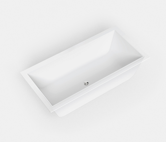 Basic shapes BW2 by Hasenkopf | Built-in bathtubs
