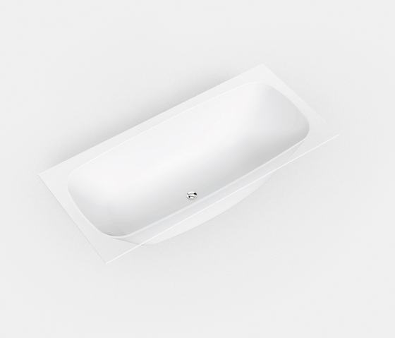 Basic shapes Curva®1 by Hasenkopf | Built-in baths