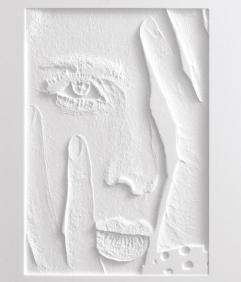 Frescata Graustufenfräsung mit Hinterleuchtung de Hasenkopf | Planchas