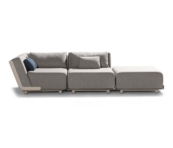 Mirthe Sofa by Tribù | Garden sofas