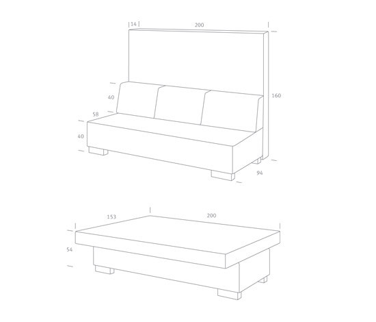 Click by Home3   Sofa beds