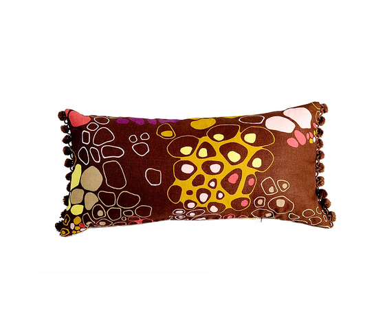 Bubbel brown Cushion by BANTIE | Cushions