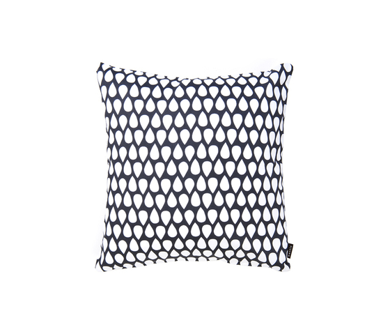Droppar black small Cushion by BANTIE | Cushions
