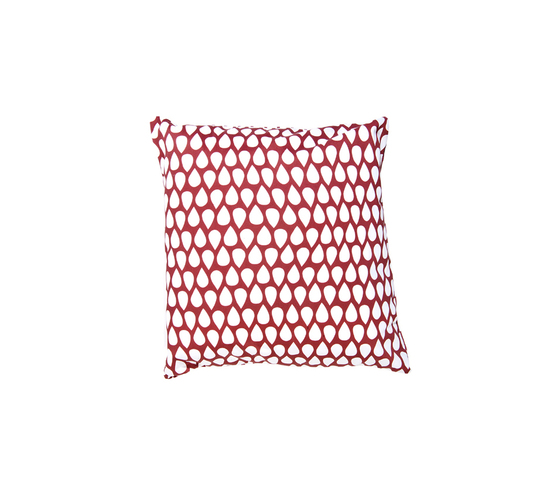 Droppar red small Cushion by BANTIE | Cushions