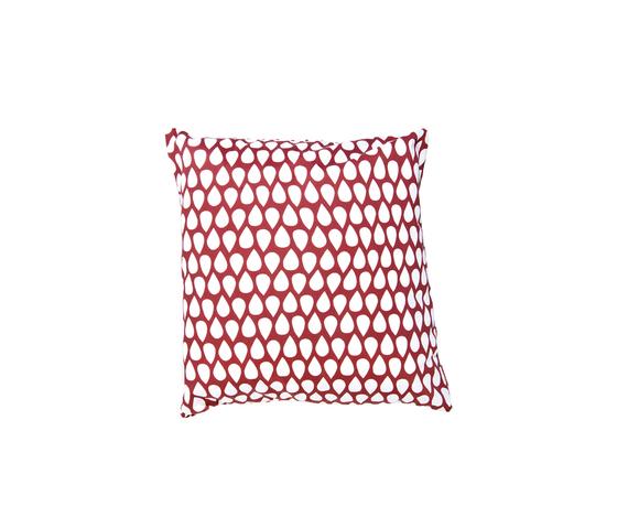 Droppar red small Cushion by BANTIE | Cushions