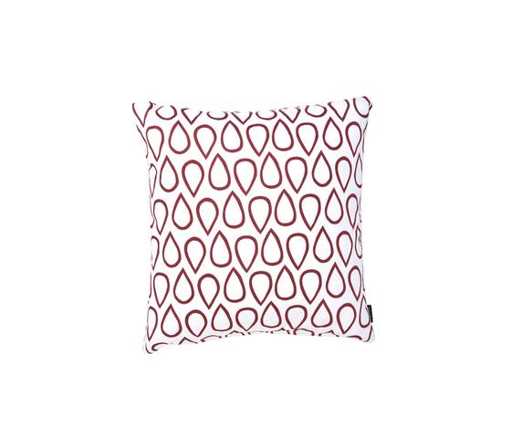 Droppar red big Cushion by BANTIE | Cushions