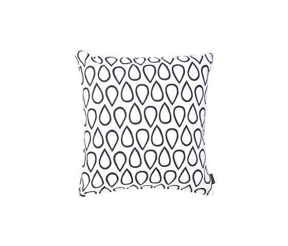 Droppar black big Cushion by BANTIE | Cushions