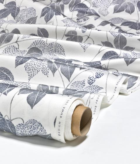 Hops grey by BANTIE | Curtain fabrics