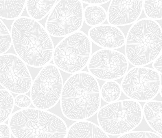 Korall white I white by BANTIE | Curtain fabrics