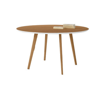 Gher h74 Round top by Arper | Restaurant tables