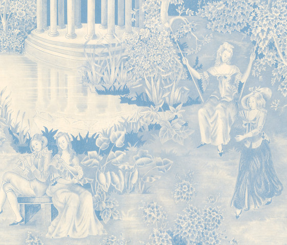 Andantino Azul by Equipo DRT | Wall coverings