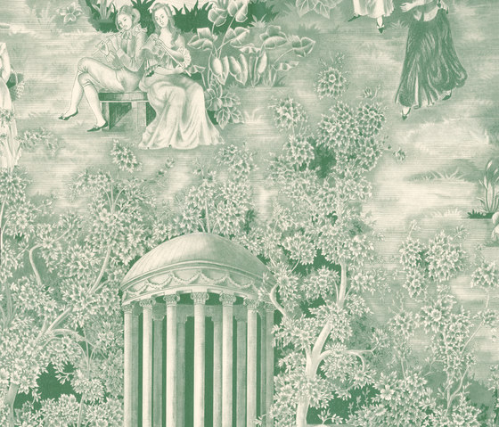 Andantino Verde by Equipo DRT | Wall coverings / wallpapers