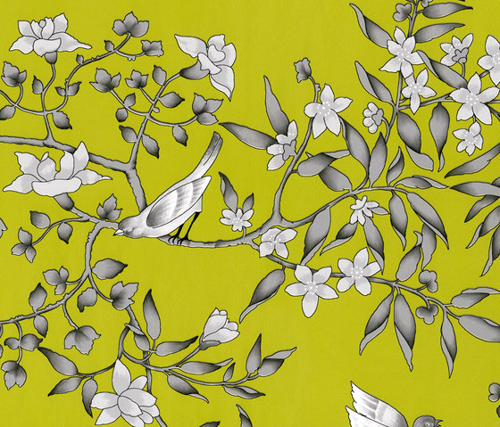Vivace Pistacho by Equipo DRT | Wall coverings / wallpapers